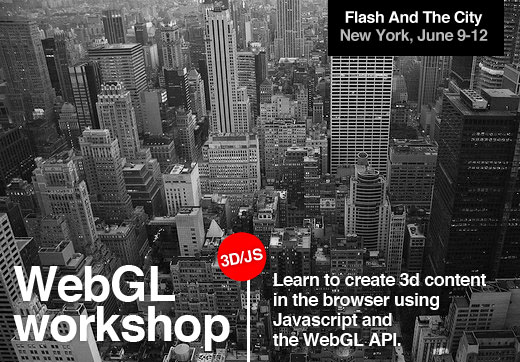 WebGL workshop, NYC, June 9-12
