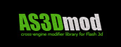 AS3Dmod Cross-engine modifer library